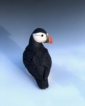 Puffin Sculpture 3 Unmounted